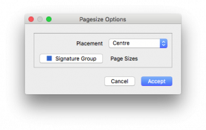 AssignPagesize-Options