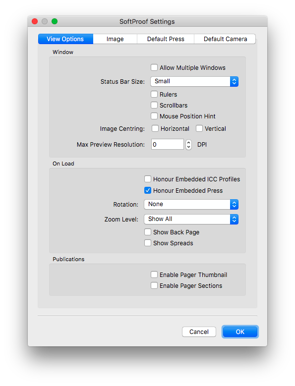 2.JobticketDeafultPress-SoftproofSettings